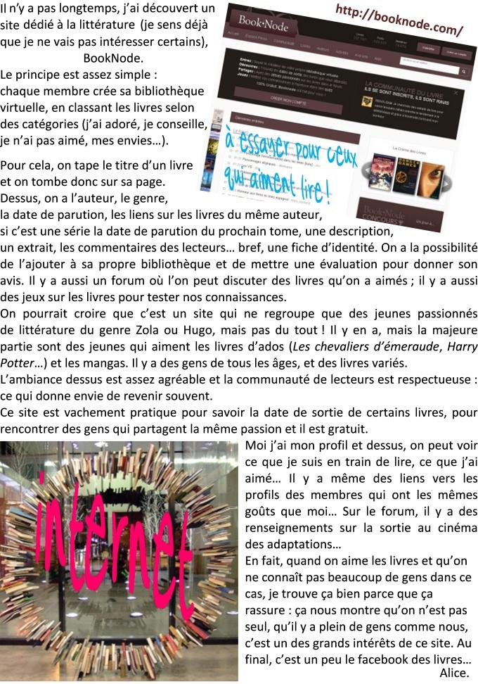 alice blog