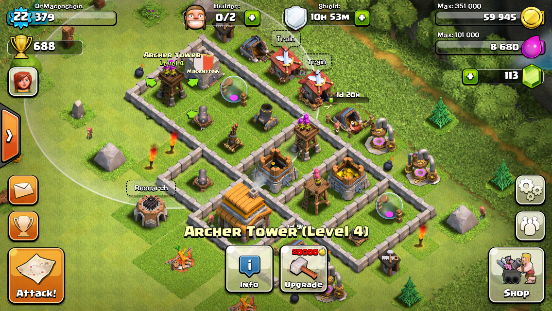 clah of clans online