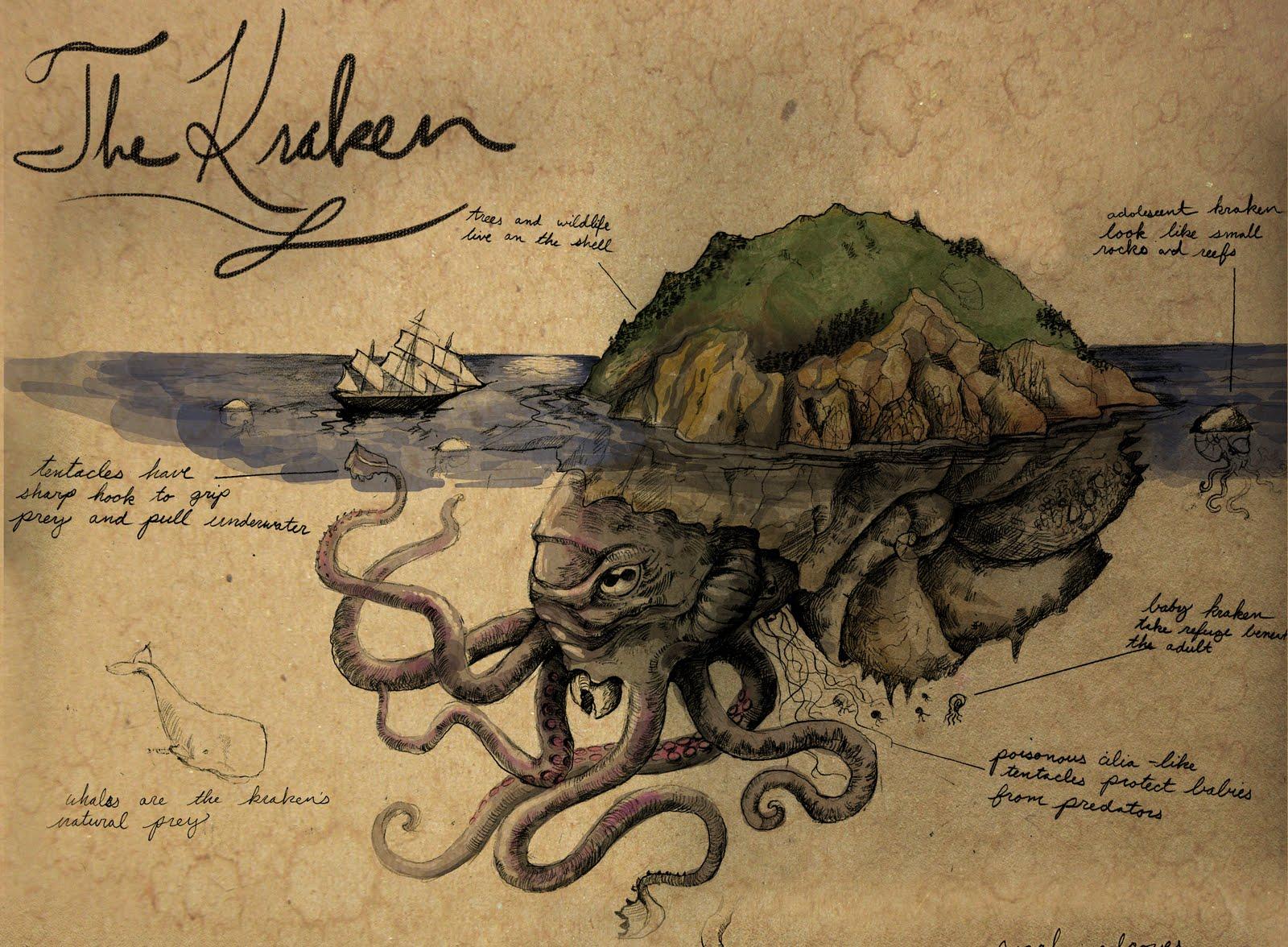 Les Monstres 1 Le Kraken Au Menu Du Canard