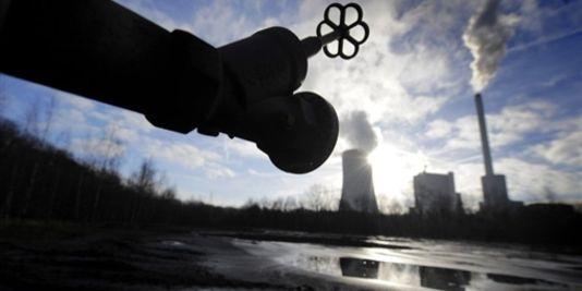 Centrale électrique alimentée au charbon , dans l'ouest de l'Allemagne. VOLKER HARTMANN/AFP