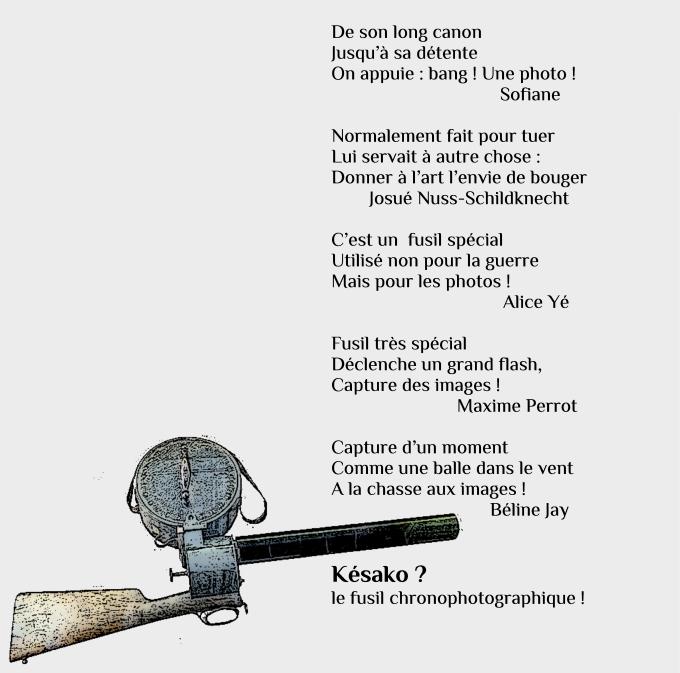 fusil chronophotographique'