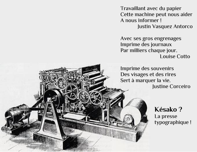 presse typographique