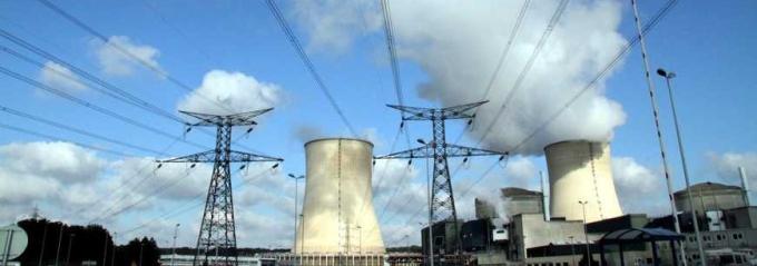 La centrale nucléaire de Cattenom © Maxppp